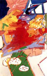 A Pintura e o Ornitólogo - 130X80 cm