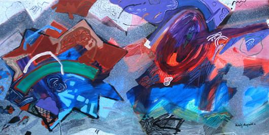 A Pintura e o Mundo - 90X180 cm