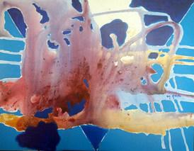 A pintura e o azul