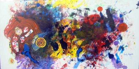 A pintura e o espaço novo - 80 x 160 cm