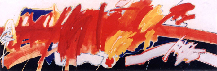 A Piuntura horizontalmente pintada