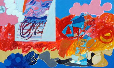 A pintura e a estrutura,