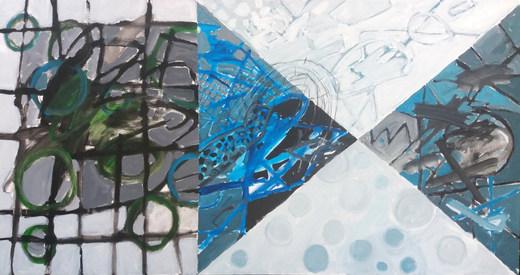 Pintura em cinco partes
