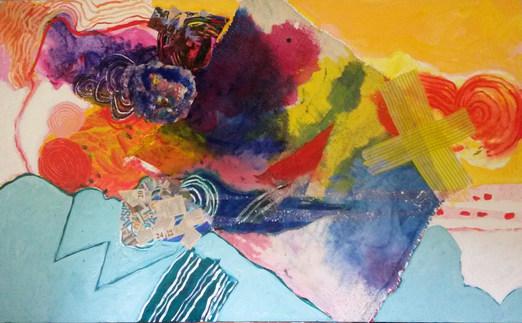 A pintura e o seutítulo - 100 x 140 cm
