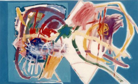 A Pintura e o casal - 100X160 cm