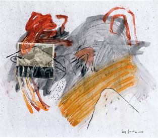 Devaneio sobre papel III - 54x62,5 cm
