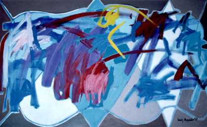 A Pintura e sua ocupação - 80X130 cm