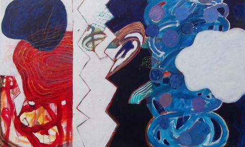 A pintura e o primeiro quadro do ano