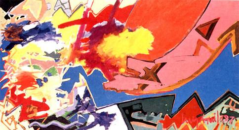 Pintura Futura - 110X200 cm
