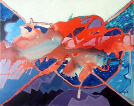 A pintura e os azuis laterais