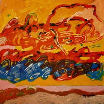 A Pintura e as três quase nuvens