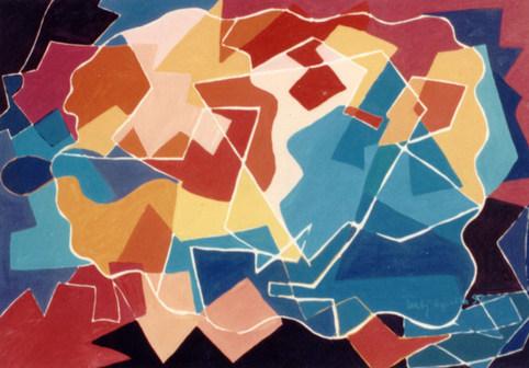 Pintura com Intervalos - 100X140 cm