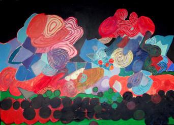 A pintura e as criaturas subterrâneas