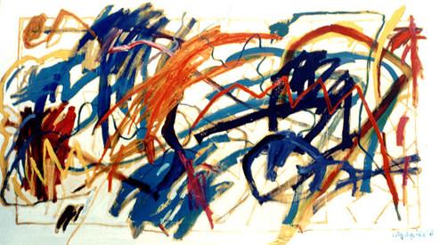 A Pintura e o Galope do Cavaleiro Azul