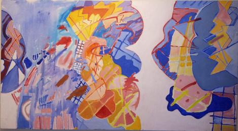 A pintura bailante
