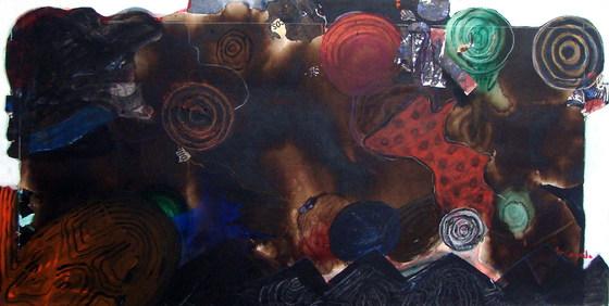 A pintura e sua própria tinta