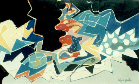 A Pintura e as Bacantes - 80X130 cm