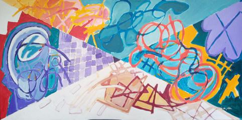 A pintura e seus quatro triângulos