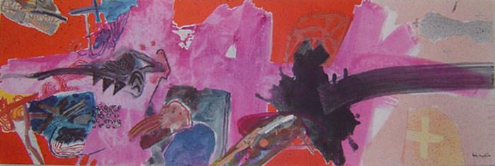 A Pintura a ser vista - 60x180 cm