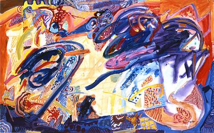 A Pintura e o Interior da Lareira