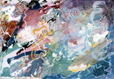 Pintura sobre papel - 30X40 cm