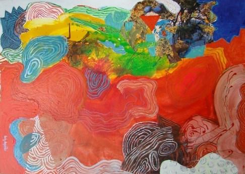A pintura e sua verticalidade -140 x 100 cm