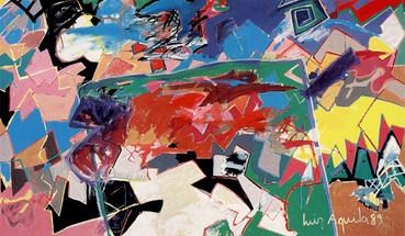 O Pintor e a Pintura em aberto - 160X27 cm