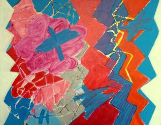 A pintura e a dança em zig-zag