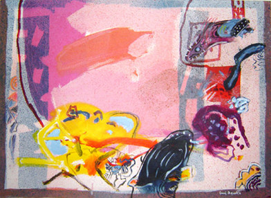 A Pintura reaberta - 53X74 cm