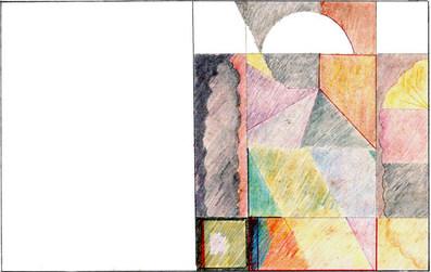 Composição Colorida V - 21X30 cm