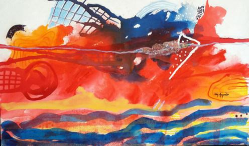 Pintura para voar