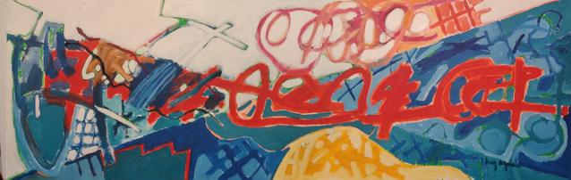 A Pintura e o solo de saxofe