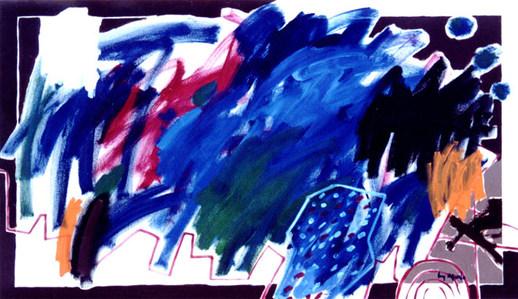 A Pintura e a tesoura emprestada