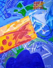 A pintura e o quase verão II