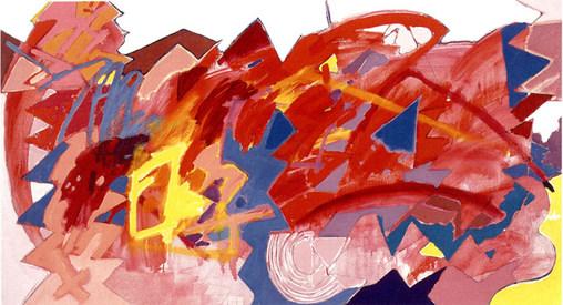 A Pintura e o Canto Amarelo - 110X200 cm