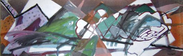 A Pintura Chamada dois Quadrados