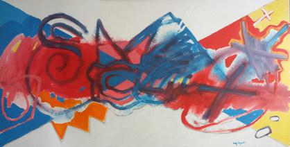 Pintura de braços abertos