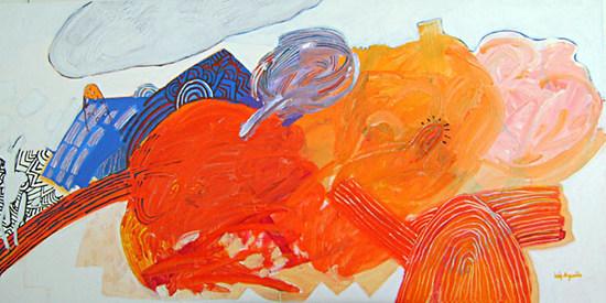 A Pintura e os Novos Devaneios - 90x180 cm