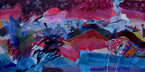 A Pintura Pré-Pirineos- 80x160 cm
