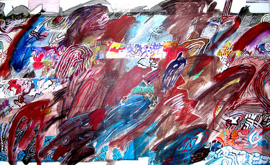A Pintura e o Terceiro Nome - 80X130 cm