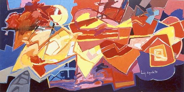 Razões para pintar - 160X220 cm