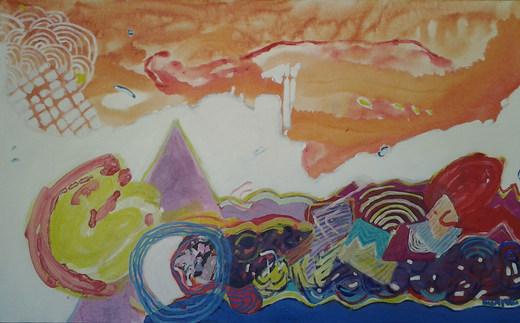 A pintura e sua autobiografia - 80 x 130