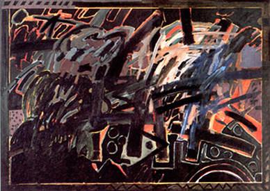 A Pintura Retorna a Madeira - 160x220 cm