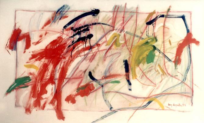 A pintura, suas cores e seus riscos