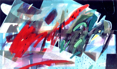A Pintura Chamada Verde - 80X130 cm