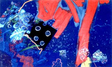 A Pintura e a Pincelada Pintada - 80x130 cm
