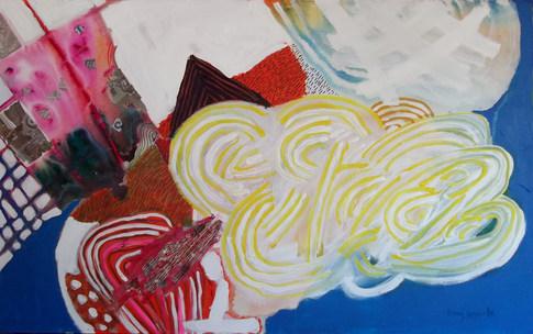 A pintura e a primeira obra de verão