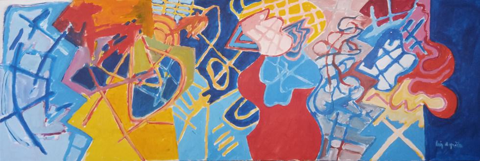 A pintura e os ritmos dança