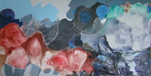 A pintura batizada - 80x160 cm