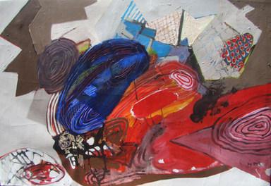 A pintura longamente pintada - 90 x 130